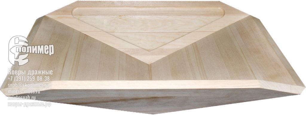 Лоток клееный деревянный