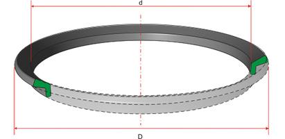 Кольца резиновые для щековых дробильных установок