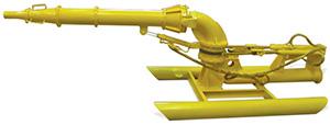 Насадки металлические на гидромонитор ГМН 250с