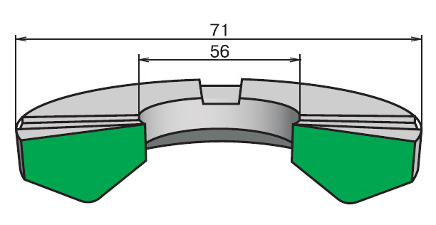Кольцо опорное КО 56-71