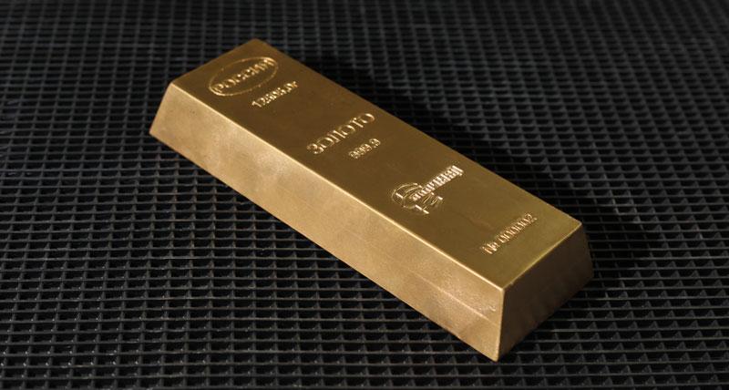 Золото за дражном ковре