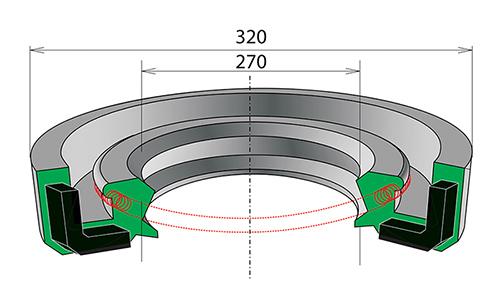 Манжеты резиновые на СМД-16