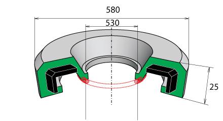 Манжеты резиновые на СМД-118