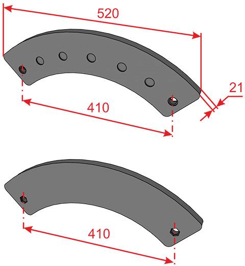 Футеровки для спиральных классификаторов
