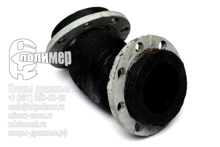 Резинотканевые трубопроводы и отводы для них