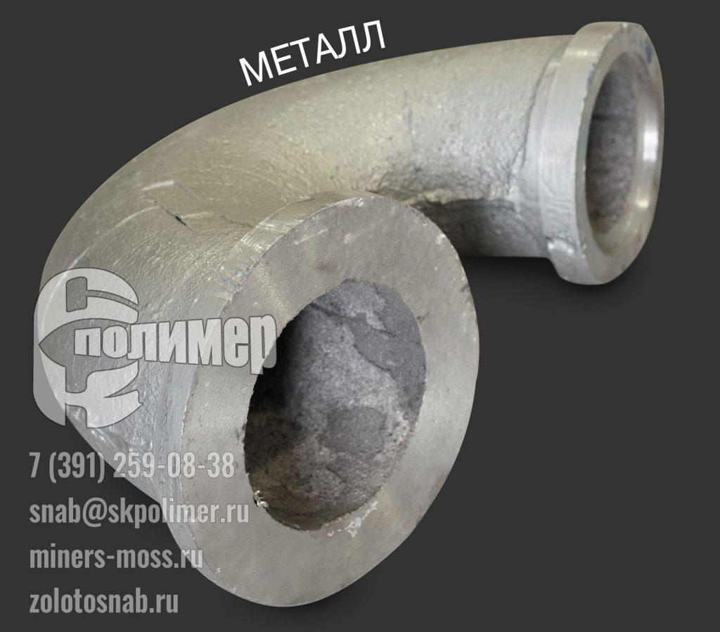 колено (отвод) из металла ГЭ 170/350.00.00.002; 1252Г-1/15; 1013ГБ-1/33
