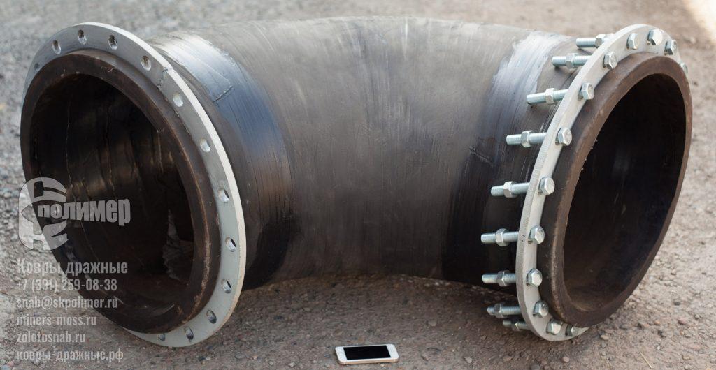 колено резиновое трубопровод