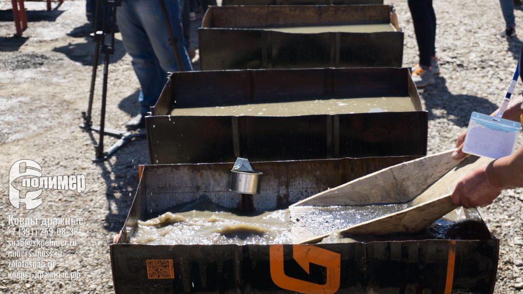 Лотки старательские от СК-Полимер в деле в магаданской области на старательском ФАРТЕ