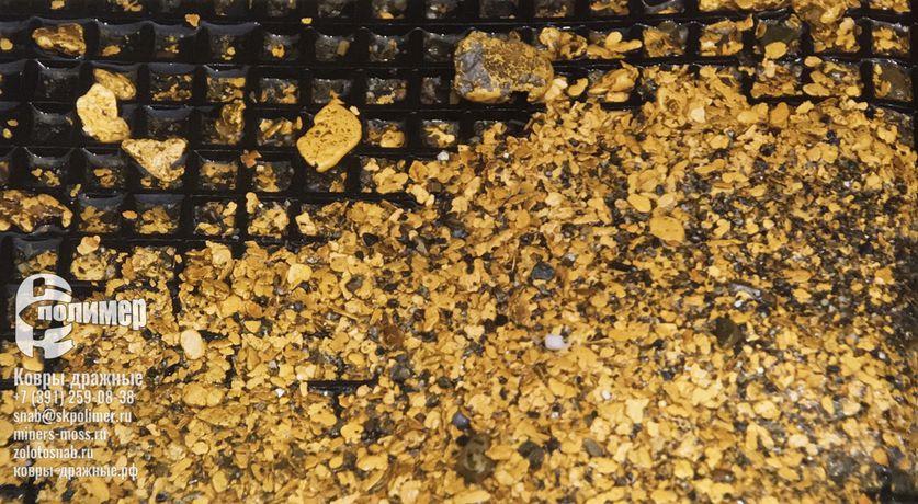 Дражные коврики для золота
