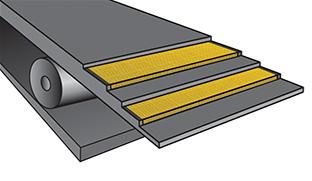 лента конвейерная в разрезе