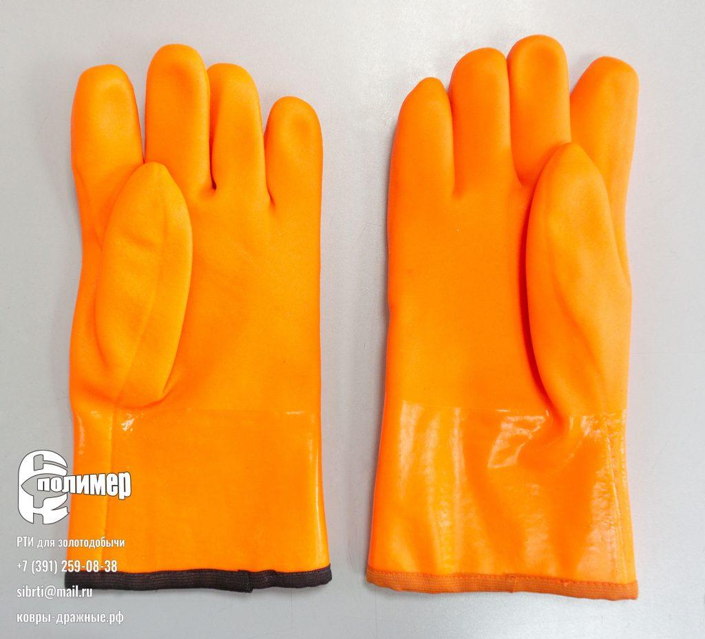 Перчатки для доводки черного шлиха