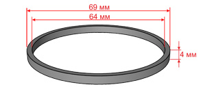 кольцо фторопласт буровая установка