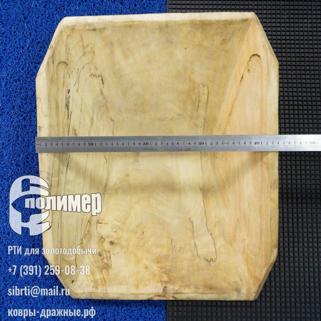 лоток деревянный долбленый заказной